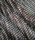 Faux Fur Fabric 58\u0022-Brown Feather
