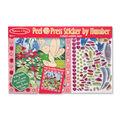 Melissa & Doug Peel & Press Sticker by Number - Flower Garden Fairy
