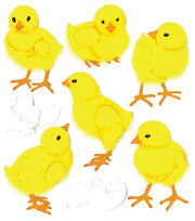 Jolee's Boutique Dimensional Spring/Easter Stickers-Baby Chicks, , hi-res