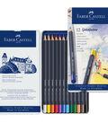 Creative Studio 12 pk Goldfaber Color Pencils in Metal Tin