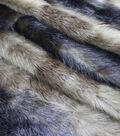 Fashion Faux Fur Fabric -Chocolate Pelt