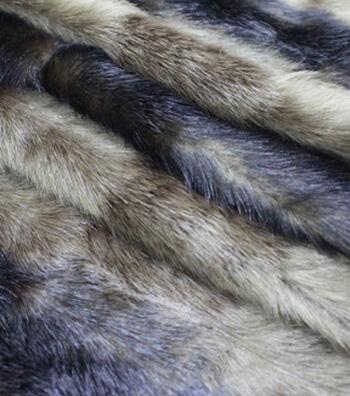 "Fashion Faux Fur Fabric 57""-Chocolate Pelt"
