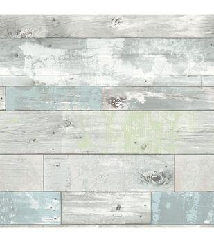 WallPops NuWallpaper Peel & Stick Wallpaper-Beachwood