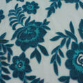 Casa Embellish Ember Mesh Fabric-Blue Coral