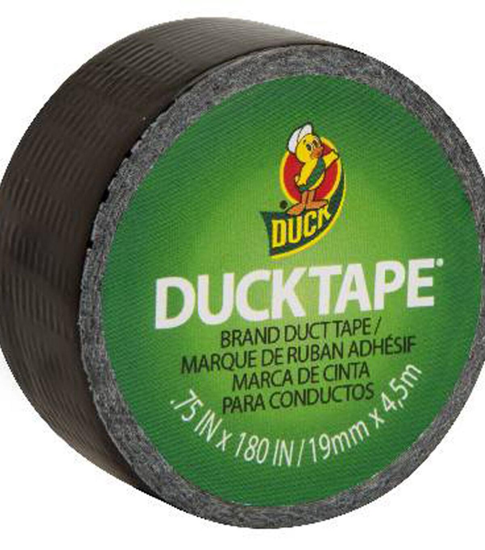 """Glitter Mini Duck Tape .75/""""x15/'-hot Pink"""