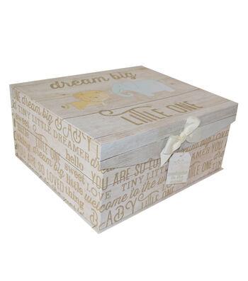 Organizing Essentials Large Fliptop Storage Box-Junior Jungle