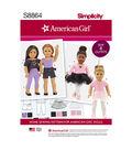 Simplicity Pattern S8864 American Girl 18\u0027\u0027 Doll Clothes