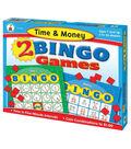 Carson Dellosa Education Time & Money Bingo Board Game, Grade 2-5