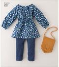 Simplicity Pattern 8282 18\u0027\u0027 Doll American Girl Clothes