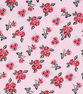 Keepsake Calico Cotton Fabric -Ditsy Floral on Pink