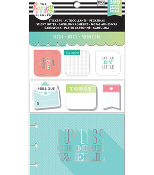 Me & My Big Ideas Coordinated Happy Planner Accessory Pack-Budget