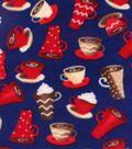 Anti-Pill Fleece Fabric 59\u0022-Lattes & Mochas