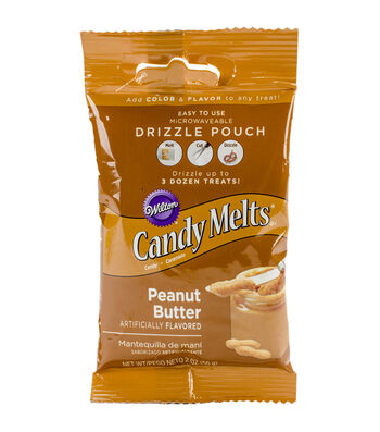Wilton Drizzle Pouch 2oz-Peanut Butter
