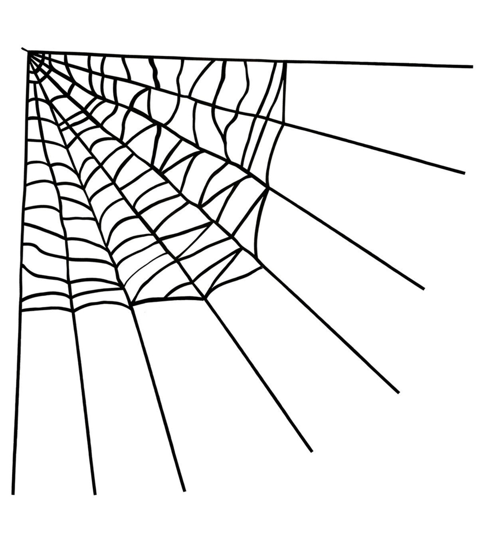halloween indoor outdoor decorations joann IR Diode maker s halloween large corner spider web black