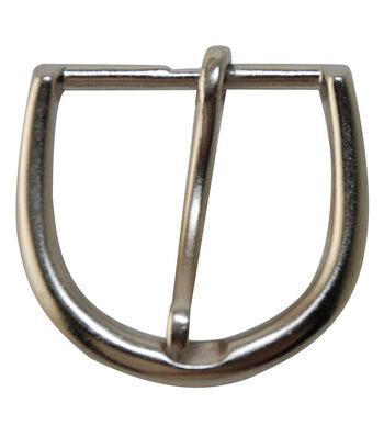 Large Round Buckle-Silver