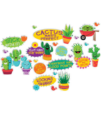 Eureka Mini Bulletin Board Set-A Sharp Bunch Positive Words
