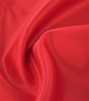 Casa Dahlia Satin Twill Fabric-Hibiscus