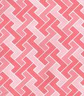 Keepsake Calico Cotton Fabric-Geometric Light Pink