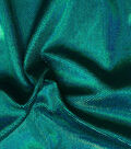Performance Fabric-Dizzy Foil Velvet Turquoise Poly Spandex