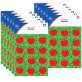 Carson Dellosa Apples Shape Stickers 12 Packs