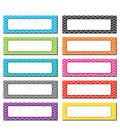 Chevron Labels Magnetic Accents 20 pcs/pk, Set Of 3 Packs