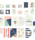 Posh Dashboards & Pocket Cards-12 Punched Inserts & 12 Cards, w/Foil