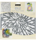 DecoArt Americana 12\u0027\u0027x12\u0027\u0027 Stencil-Tie Dye