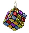 Maker\u0027s Holiday Christmas Rubik\u0027s Cube Ornament