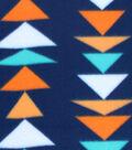 Blizzard Fleece Prints-Fiesta Triangles