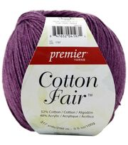 Premier Yarns Cotton Fair Solid Yarn, , hi-res