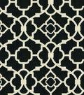 Home Decor 8\u0022x8\u0022 Fabric Swatch-Lovely Lattice Caviar