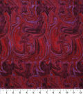 Keepsake Calico Cotton Fabric 43\u0027\u0027-Reds Marble Swirl