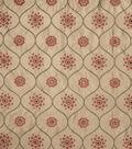 Home Decor 8\u0022x8\u0022 Fabric Swatch-Jaclyn Smith Susette  Terra Cotta