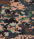 Snuggle Flannel Fabric -Digtial Camo