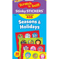 TREND Scratch\u0027n Sniff Stinky Stickers Variety Pack-Seasons & Holidays