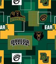 Baylor University Bears Cotton Fabric 43''-Modern Block, , hi-res