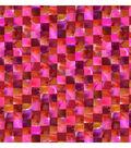 Keepsake Calico Cotton Fabric -Red & Orange Mosaic