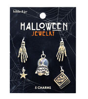 hildie & jo Halloween Tarot Reading Silver Charms-Crystal Ball, , hi-res