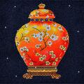 Diamond Dotz Diamond Embroidery Facet Art Kit 23.5\u0027\u0027X23.5\u0027\u0027-Red Vase