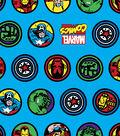 Marvel Comics Flannel Fabric 42\u0022-Retro Comic