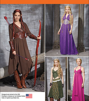Simplicity Patterns 1010-Misses' Fantasy Costumes