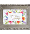 Sizzix Clear Stamps By Lindsey Serata-Blooming Sentiments