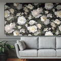 York Wallcoverings Wallpaper-Black Photographic Floral