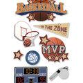 Basketball 3D Sticker