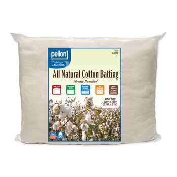Pellon All Natural Cotton Batting-King