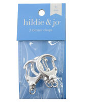 hildie & jo 3 Pack 33mm Lobster Clasps-Silver, , hi-res