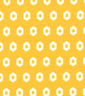 Quilter\u0027s Showcase Fabric 44\u0027\u0027-Amber Yellow Geometric