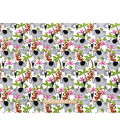 Snuggle Flannel Fabric -Rainforest Friends