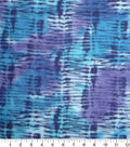 Anti-Pill Fleece Fabric -Blue & Purple