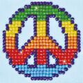 Diamond Dotz Diamond Embroidery Facet Art Kit 4.75\u0027\u0027X4.75\u0027\u0027-Peace Man